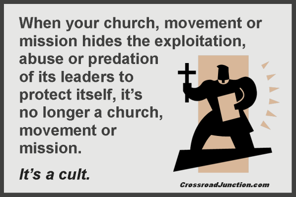 cult leaders and their abuse of Information control is also a sign of abuse cult leaders often do not want their members to investigate the group's own history or may restrict their news sources,.